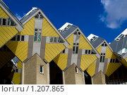 Купить «Дома в Роттердаме», фото № 1207865, снято 12 апреля 2008 г. (c) Петр Кириллов / Фотобанк Лори