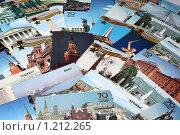 Купить «Коллекция старых календариков с изображением городов», фото № 1212265, снято 13 ноября 2009 г. (c) Анастасия Семенова / Фотобанк Лори
