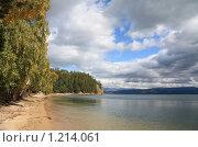 Купить «Чивыркуйский залив. Байкал.», фото № 1214061, снято 14 сентября 2009 г. (c) Кирилл Трифонов / Фотобанк Лори