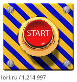 Купить «Кнопка старт», иллюстрация № 1214997 (c) Геннадий Соловьев / Фотобанк Лори