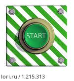 Купить «Кнопка старт», иллюстрация № 1215313 (c) Геннадий Соловьев / Фотобанк Лори