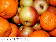 Купить «Спелые яблочки», фото № 1217253, снято 1 января 2006 г. (c) Катя Белякова / Фотобанк Лори