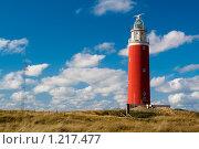Старый маяк на берегу моря. Стоковое фото, фотограф Петр Кириллов / Фотобанк Лори