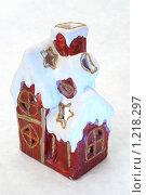 Зимний домик (2009 год). Редакционное фото, фотограф Николай Истомин / Фотобанк Лори
