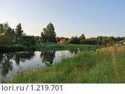 Купить «Река», фото № 1219701, снято 17 июля 2009 г. (c) Мастепанов Павел / Фотобанк Лори