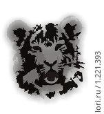 Купить «Морда тигра», иллюстрация № 1221393 (c) Галина Щурова / Фотобанк Лори