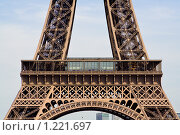 Купить «Эйфелева башня», фото № 1221697, снято 10 мая 2008 г. (c) Петр Кириллов / Фотобанк Лори