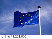 Флаг Европы (2008 год). Стоковое фото, фотограф Петр Кириллов / Фотобанк Лори