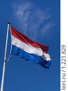 Флаг Нидерландов. Стоковое фото, фотограф Петр Кириллов / Фотобанк Лори