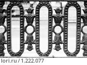 Купить «Декоративная ограда», фото № 1222077, снято 25 октября 2009 г. (c) Сергей Рыжов / Фотобанк Лори