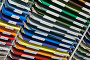 Фон из разноцветной бумаги, фото № 1222881, снято 24 мая 2009 г. (c) Яков Филимонов / Фотобанк Лори