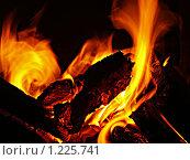 Огонь. Стоковое фото, фотограф Аркадий Кожуренко / Фотобанк Лори