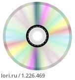 Изолированный диск. Стоковая иллюстрация, иллюстратор Никитина Евгения / Фотобанк Лори