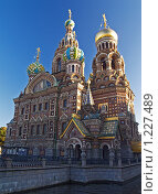 Купить «Храм Спаса на Крови в Санкт-Петербурге», фото № 1227489, снято 25 сентября 2007 г. (c) Александр Кузовлев / Фотобанк Лори