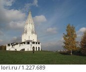 Храм в Коломенском (2009 год). Редакционное фото, фотограф Анатолий Сверчков / Фотобанк Лори