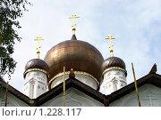 Купить «Старая Русса, Никольская церковь», фото № 1228117, снято 4 сентября 2009 г. (c) Александр Секретарев / Фотобанк Лори