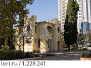 Купить «Сочи, библиотека имени Пушкина», фото № 1228241, снято 21 ноября 2009 г. (c) Игорь Р / Фотобанк Лори