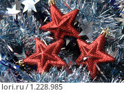 Купить «Новогодние игрушки», фото № 1228985, снято 2 ноября 2009 г. (c) Карелин Д.А. / Фотобанк Лори