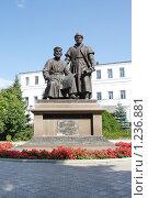 Памятник зодчим казанского кремля (2009 год). Редакционное фото, фотограф Евгений Яковлев / Фотобанк Лори