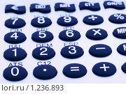 Купить «Кнопки калькулятора», фото № 1236893, снято 23 ноября 2009 г. (c) Анастасия Золотницкая / Фотобанк Лори