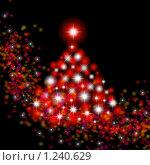 Купить «Рождественская открытка», иллюстрация № 1240629 (c) ElenArt / Фотобанк Лори