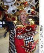 Бразильский карнавал (2008 год). Редакционное фото, фотограф Оксана Sk / Фотобанк Лори