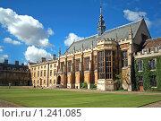 Купить «Тринити колледж, Кембридж», фото № 1241085, снято 4 августа 2008 г. (c) Васильева Татьяна / Фотобанк Лори