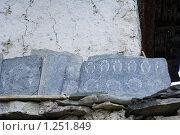 Купить «Непал. Окрестности горы Манаслу», фото № 1251849, снято 29 октября 2009 г. (c) Михаил Ворожцов / Фотобанк Лори