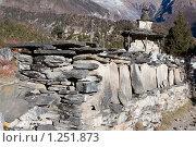 Купить «Непал. Окрестности горы Манаслу», фото № 1251873, снято 1 ноября 2009 г. (c) Михаил Ворожцов / Фотобанк Лори