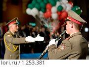 Купить «Болнарский военный оркестр», фото № 1253381, снято 9 июля 2008 г. (c) Александр Косарев / Фотобанк Лори