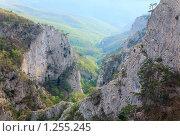 Купить «Большой Крымский Каньон (Крым, Украина)», фото № 1255245, снято 7 мая 2009 г. (c) Юрий Брыкайло / Фотобанк Лори