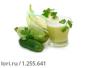 Купить «Сок из овощей», фото № 1255641, снято 10 ноября 2009 г. (c) Татьяна Белова / Фотобанк Лори
