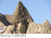 Купить «Жилой скальный дом в Гореме, Каппадокия, Турция», фото № 1256253, снято 3 ноября 2009 г. (c) Знаменский Олег / Фотобанк Лори