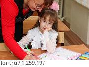 Первоклашка. Стоковое фото, фотограф Олег Юрмашев / Фотобанк Лори