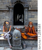 Садху (2008 год). Редакционное фото, фотограф Павлов Борис / Фотобанк Лори