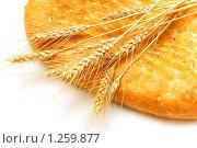 Купить «Хлеб и колосья пшеницы», фото № 1259877, снято 30 марта 2008 г. (c) Elnur / Фотобанк Лори