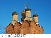 Купить «Москва, Храм Знамения Божией Матери (Знаменский монастырь на Варварке)», эксклюзивное фото № 1263697, снято 2 января 2009 г. (c) lana1501 / Фотобанк Лори