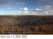 Купить «Угольный разрез. Коркино Челябинская область.», фото № 1265305, снято 5 декабря 2009 г. (c) Андрей Соловьев / Фотобанк Лори