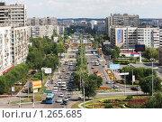 Улица Чкалова, город Оренбург (2005 год). Редакционное фото, фотограф Гуньков Валерий Анатольевич / Фотобанк Лори