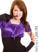 Купить «Портрет молодой девушки», фото № 1266781, снято 22 марта 2009 г. (c) Валентин Мосичев / Фотобанк Лори
