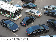 Купить «Пробка на дороге», эксклюзивное фото № 1267801, снято 13 октября 2009 г. (c) lana1501 / Фотобанк Лори