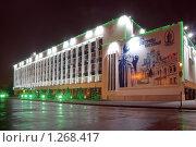 Купить «Ночной Краснодар Городская Дума на площади Революции», фото № 1268417, снято 24 декабря 2008 г. (c) Андрей Емельяненко / Фотобанк Лори