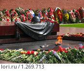 Купить «Александровский сад. Вечный огонь.», фото № 1269713, снято 11 мая 2008 г. (c) Владимир Ременец / Фотобанк Лори