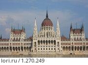 Купить «Будапешт. Здание парламента и река Дунай», фото № 1270249, снято 3 июля 2009 г. (c) Наталья Белотелова / Фотобанк Лори