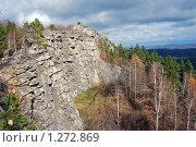 Купить «Аракульский Шихан, Южный Урал», фото № 1272869, снято 11 октября 2008 г. (c) Анна Омельченко / Фотобанк Лори