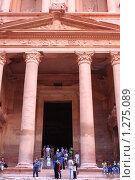 Купить «Храм в Петре. Иордания», фото № 1275089, снято 22 сентября 2009 г. (c) АЛЕКСАНДР МИХЕИЧЕВ / Фотобанк Лори