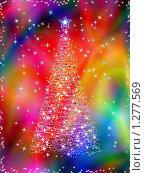 Новогодняя елка. Стоковая иллюстрация, иллюстратор Сергей Королько / Фотобанк Лори