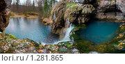 Озёра водопада Атыш. Стоковое фото, фотограф Рамиль Юсупов / Фотобанк Лори