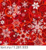 Купить «Новогодний бесшовный фон», иллюстрация № 1281933 (c) Татьяна Борозенец / Фотобанк Лори