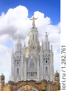 Купить «Храм Святого Сердца на горе Тибидабо. Барселона», фото № 1282761, снято 27 августа 2008 г. (c) Vitas / Фотобанк Лори
